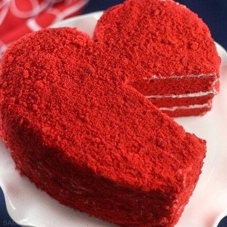 دستور پخت کیک خوشمزه قلب مخصوص روز ولنتاین