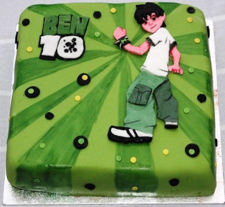 انواع مدل های کیک با تم بن تن