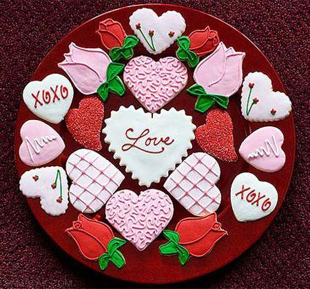آموزش تزیین شیرینی های روز ولنتاین
