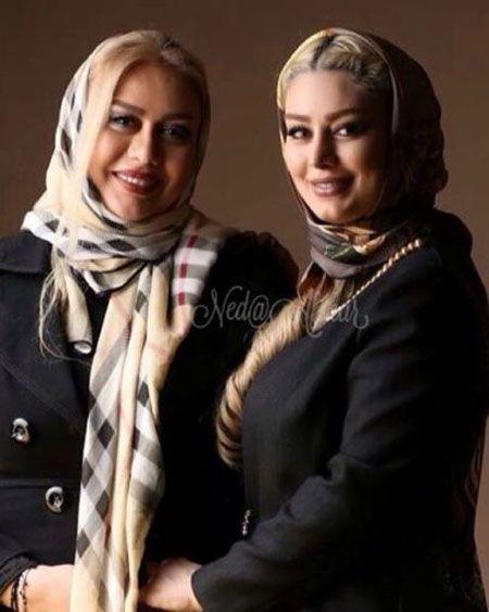 """دو عکس جدید از سحر قریشی و مادرش """"ندا افشار"""""""