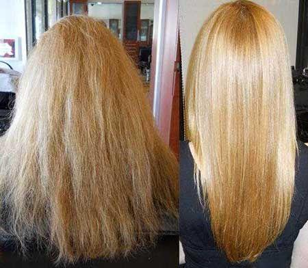 بهترین مواد طبیعی و بی ضرر برای کراتینه مو