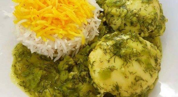 طرز تهیه باقالی قاتق با مرغانه غذای معروف خطه گیلان