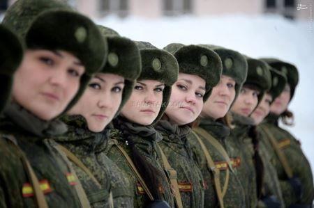عکس های دیدنی سربازان زن زیبا و خوشگل روسیه