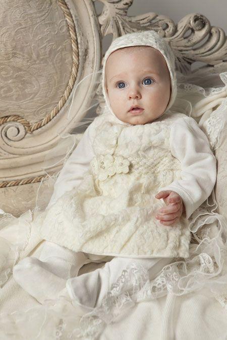 عکس شیک ترین ست لباس نوزادی دخترانه و پسرانه رنگ سفید