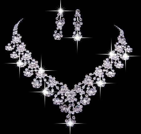 عکس زیباترین سرویس های طلا و جواهر ایرانی