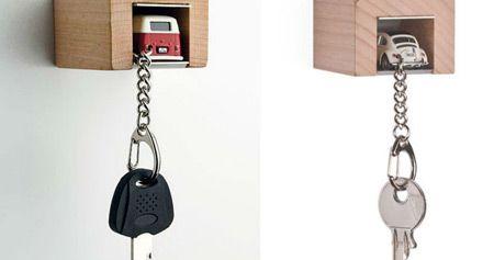 عکس جالب ترین مدل های جاکلیدی دیواری فانتزی ویژه منازل