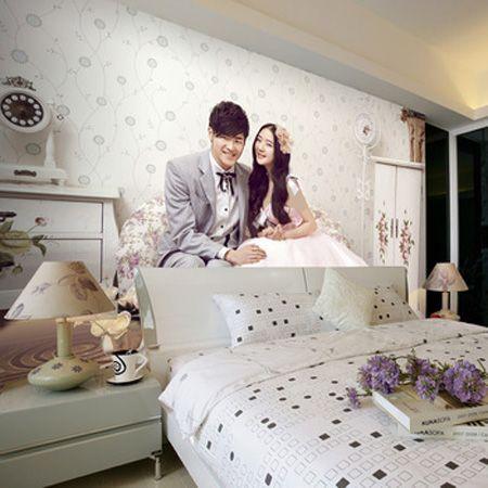 تزیین اتاق خواب عروس و داماد ایرانی