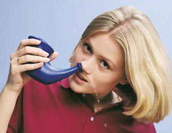 بهترین روش های شستشوی بینی و پاکسازی سینوس ها