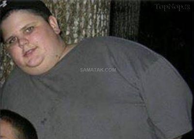 چاق ترین مدلینگ مرد جهان با 180 کیلو وزن (عکس)
