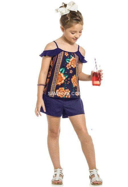 جدیدترین مدل های بلوز شورت دخترانه