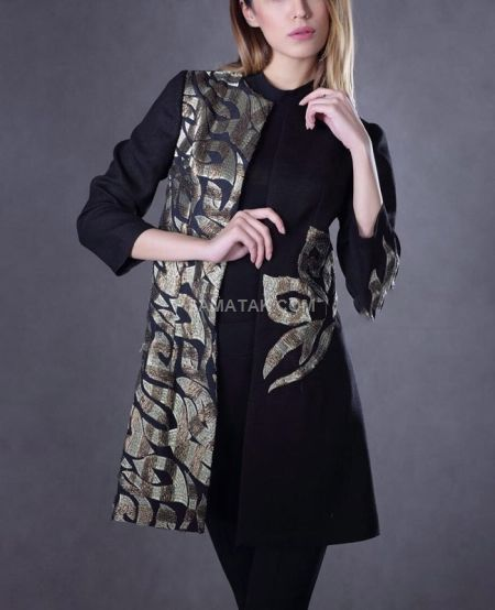 عکس جدیدترین مدل های مانتو ویسکوز نخی تابستانه
