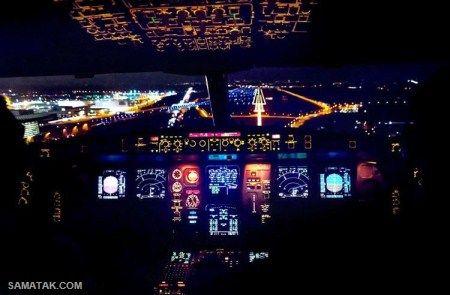 عکس های دیدنی سطح زمین از داخل کابین خلبان