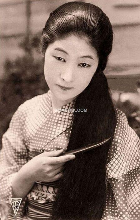 عکس های زیباترین زنان 100 سال قبل