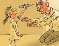 کاریکاتور روز پدر   کاریکاتور روز مرد