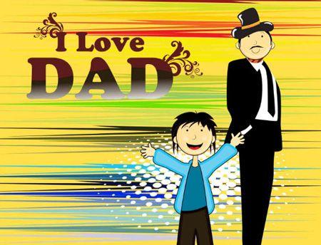 عکس متحرک روز پدر | عکس متحرک روز مرد