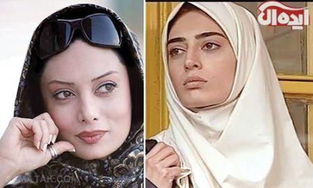 عکس بازیگران ایرانی قبل و بعد از عمل بینی