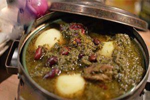 طرز تهیه آبگوشت قرمه سبزی خوشمزه ترین غذای سنتی