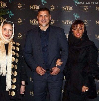 آلبوم عکس علی دایی و همسر و دخترانش