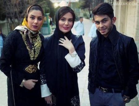 عکس های جنجالی ارسلان قاسمی با بازیگران زن ایرانی