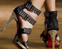 کفش پاشنه بلند مشکی مجلسی (جدید)