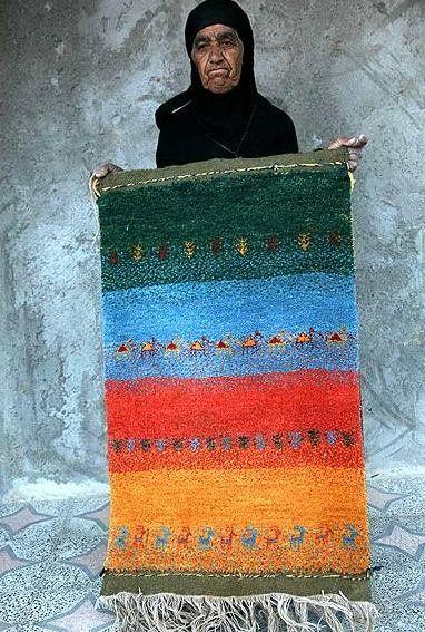 گبه چیست | گبه بافی زنان عشایر ایران