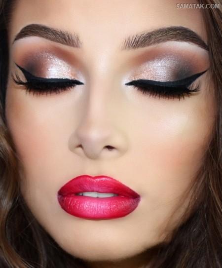 مدل آرایش چشم خمار (عکس)