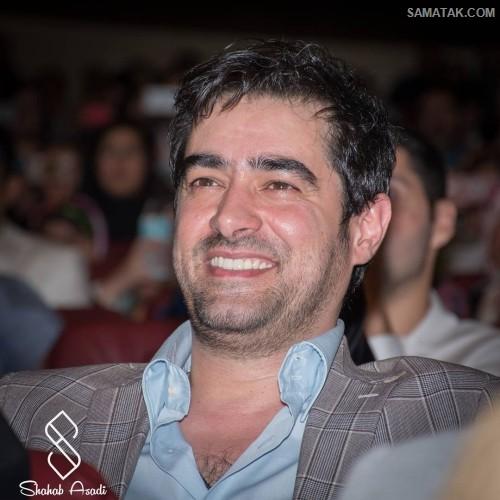 آلبوم عکس شهاب حسینی در جشن پایان سریال شهرزاد