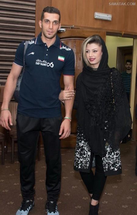 آلبوم عکس ستاره های والیبال ایران و همسرانشان
