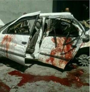 تصادف مرگبار دانشجویان دختر قزوین (عکس 18+)