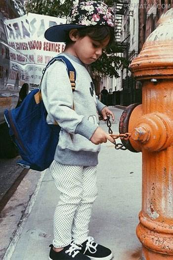 عکس های کودکان ناز مانکن و مدلینگ در اینستاگرام