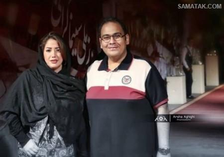 آلبوم عکس شخصی رضا داوود نژاد و همسرش غزل بدیعی