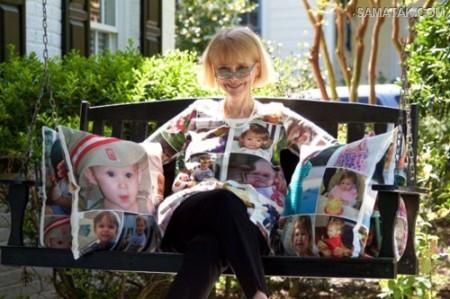 کار جنجالی مادر بزرگ به خاطر علاقه شدید به نوه هایش + تصاویر