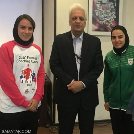 بیوگرافی فرشته کریمی بازیکن تیم ملی فوتسال زنان ایران + تصاویر