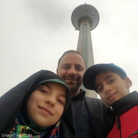 حسین ذکایی بیوگرافی و عکس های شخصی همسر و فرزندانش