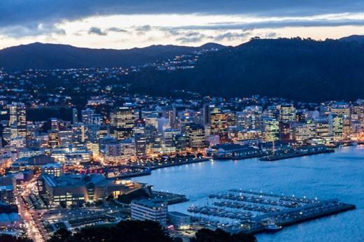 معرفی شهر ولینگتون پایتخت کشور نیوزلند + تصاویر