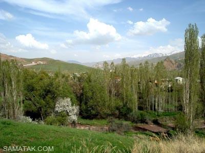 شهر کوچک و زیبای طالقان (تصاویر)