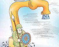 کاریکاتورهای جالب درباره بحران آب (تصاویر)