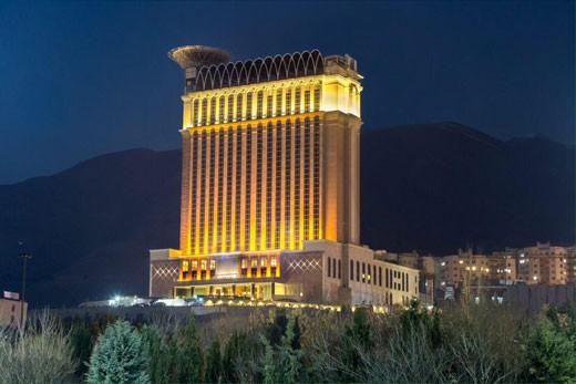 هتل های زنجیره ای در شهرهای مختلف ایران