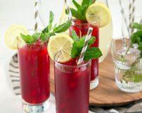 طرز تهیه انواع نوشیدنی های مناسب برای وعده افطار