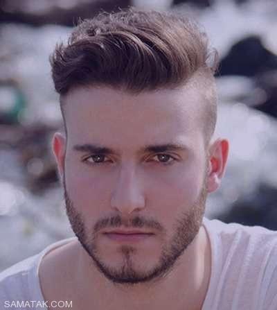 مدل مو کوتاه پسرانه خامه ای