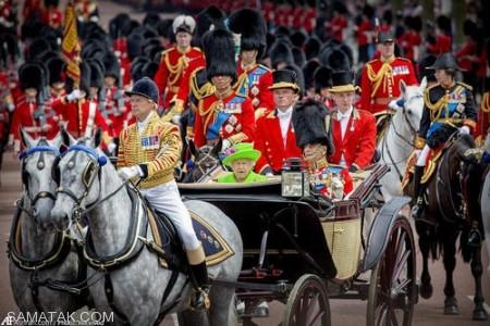 جشن تولد ملکه انگلیس در سن 90 سالگی + تصاویر