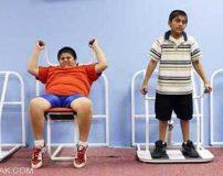 ورزش هوازی برای لاغری کودکان چاق بسیار خوب است