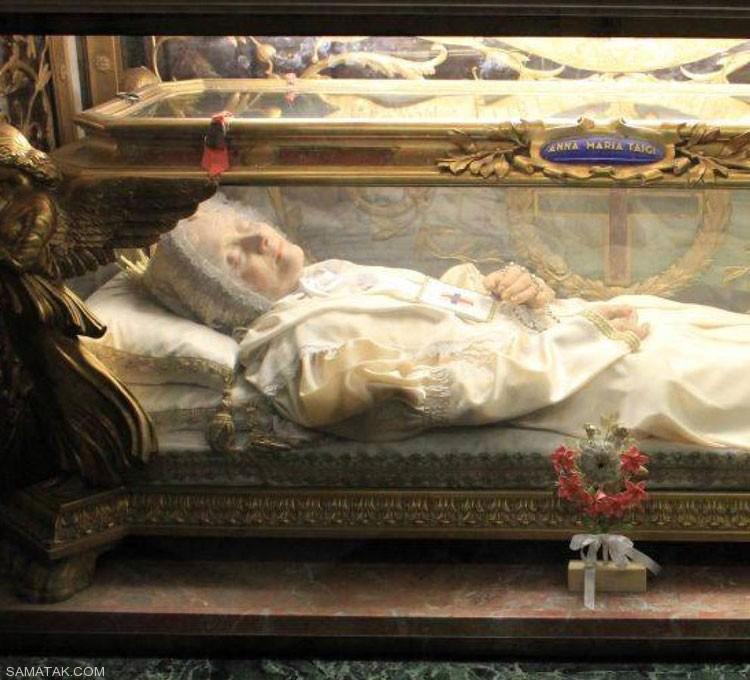 نمایشگاه اجساد و جنازه های قدیمی در ایتالیا (تصاویر 18+)
