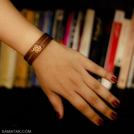 عکس مدل های اسپرت دستبند چرم دخترانه و پسرانه