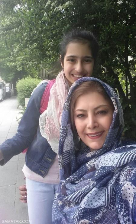 بیوگرافی لادن طباطبایی بازیگر 46 ساله + عکس های دخترش