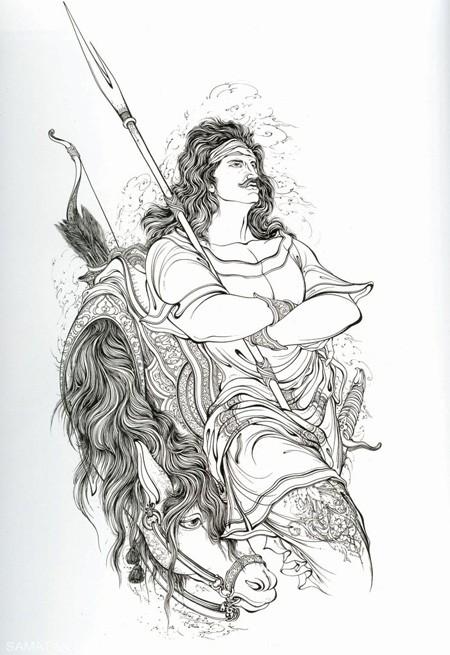 نقاشی مینیاتور چیست و تصاویر بی نظیر آن