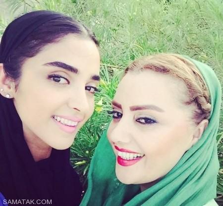 عکس های مادر ناز و خوشگل الهه حصاری
