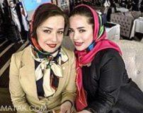عکس سلفی لو رفته ملیکا و مهراوه شریفی نیا در کارواش