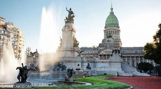 میدان ایران باشکوه ترین میدان آرژانتین