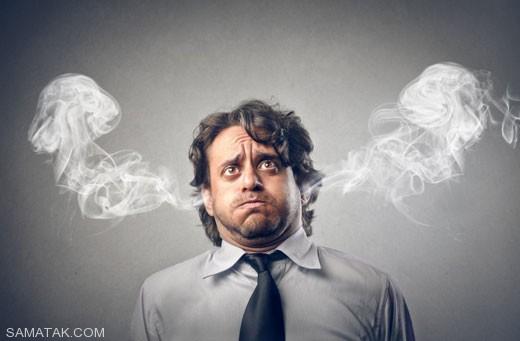اثرات استرس و نگرانی روی بدن انسان